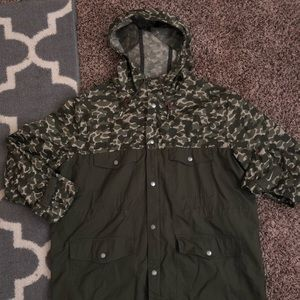 Nike Ripstop Camo Athletic Dept Jacket size XL